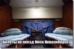 Билеты на поезд Омск Новосибирск