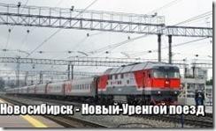 Новосибирск - Новый-Уренгой поезд