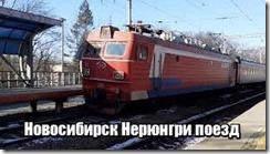 Новосибирск Нерюнгри поезд